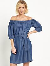 Bardot Tencel Dress