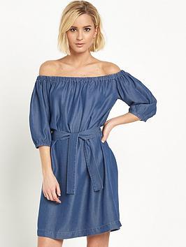 miss-selfridge-bardot-tencel-dress