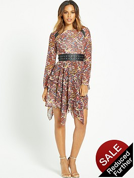 rochelle-humes-eyelet-belted-long-sleeve-paisley-dress
