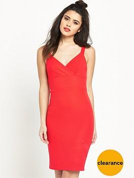 miss-selfridge-textured-rib-dress