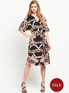 river-island-kimono-sleeve-midi-dress