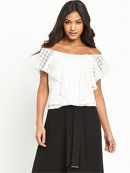 river-island-lace-bardot-top