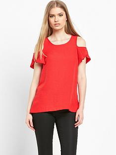 river-island-cold-shoulder-ruffle-top
