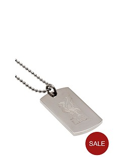 liverpool-stainless-steel-dog-tag-amp-ball-chain