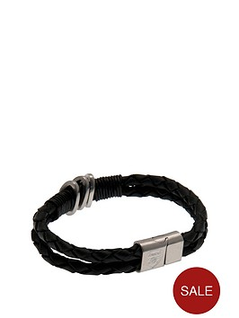 arsenal-stainless-steel-and-leather-crest-bracelet