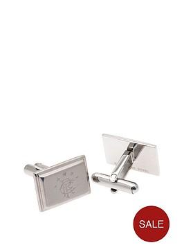 rangers-stainless-steel-oblong-crest-cufflinks