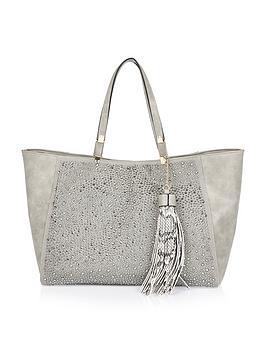 river-island-jewel-detail-beach-bag