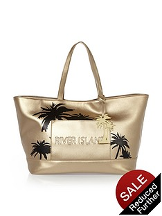 river-island-palm-print-beach-bag
