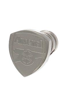 arsenal-stainless-steel-crest-stud-earring