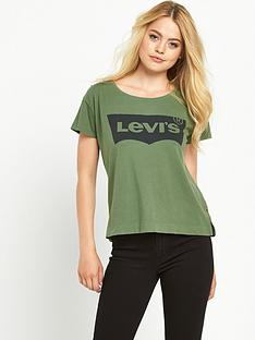 levis-levi-perfect-batwing-sleeve-tee-bronze-green
