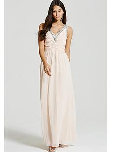 little-mistress-nude-embellished-plunge-maxi-dress