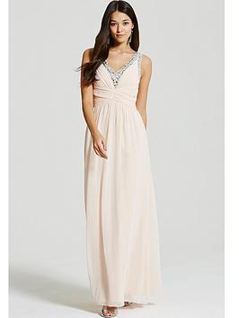 little-mistress-nude-embellished-plunge-maxi-dress