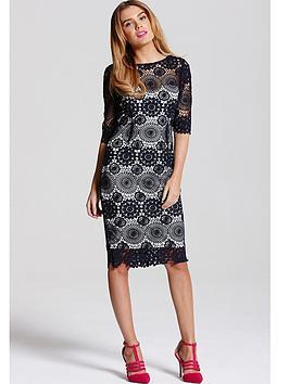 paper-dolls-paper-dolls-navy-crochet-lace-34-sleeve-dress