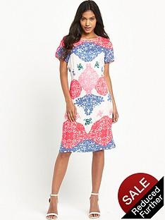vero-moda-lace-print-short-sleeve-dressnbsp