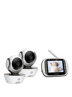 motorola-mbp-853-connected-baby-monitor-with-mbp-85-motionnbspcamera-deluxe-bundle