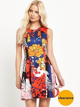pinko-mitologico-patchwork-dress