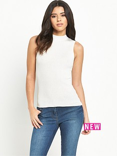v-by-very-high-neck-sleeveless-rib-knitted-topnbsp