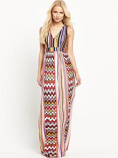 pinko-flavio-printed-maxi-dress