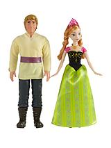Frozen Anna and Kristoff twin pack