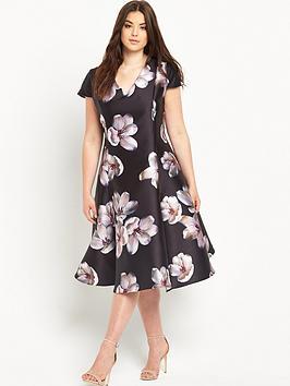 truly-you-midi-printed-prom-dress