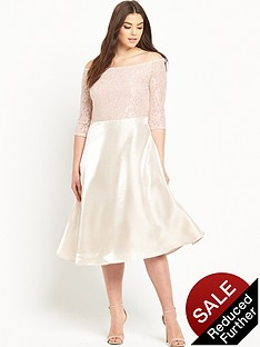truly-you-off-the-shoulder-lace-top-and-satin-skirt-midi-dress