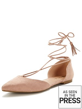 v-by-very-brixtonnbsptie-up-the-leg-pointed-flat-shoe