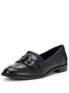 v-by-very-grafton-wide-fit-leather-tassel-loafer-black