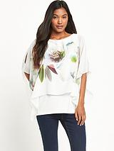 Floral Asymmetric Overlayer