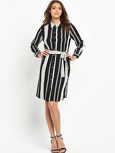 wallis-petite-stripe-shirt-dressnbsp