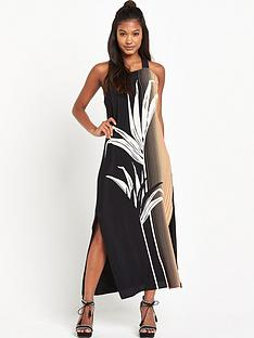 warehouse-warehouse-palm-print-pinifore-dress