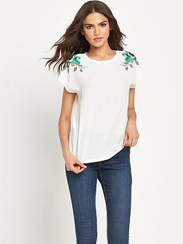 warehouse-botanical-floral-tee