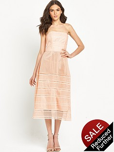 warehouse-mixed-lace-bandeau-dress
