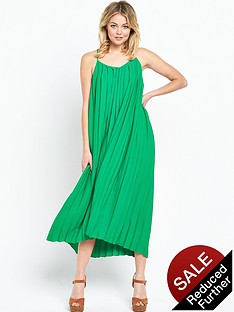 warehouse-pleat-cami-dress