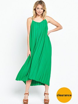 warehouse-pleat-cami-dress