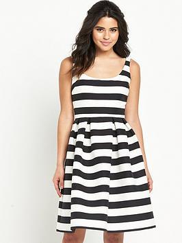 warehouse-stripe-prom-dress