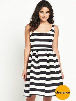 warehouse-stripe-prom-dress