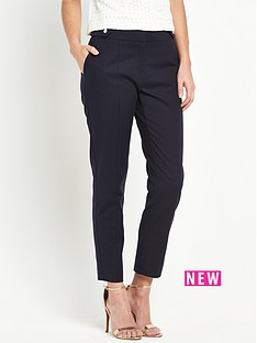 oasis-compact-cotton-trouser