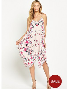 oasis-la-havana-hanky-hem-dress