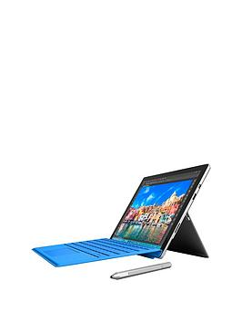 Microsoft Surface Pro 4 Intel&Reg; M3 Processor 4Gb Ram 128Gb Solid State Drive Wi-Fi 12.3 Inch Tablet And Cover