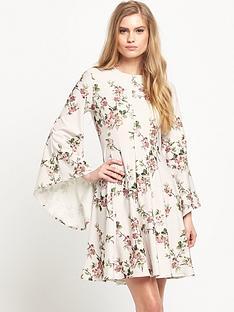 miss-selfridge-cherry-blossom-print-dress