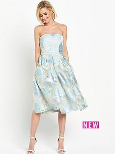 miss-selfridge-bandeau-burnout-organza-midi-dress