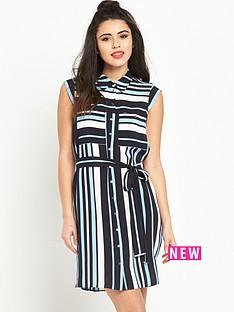 miss-selfridge-miss-selfridge-stripe-shirt-dress