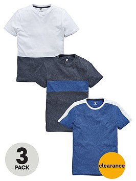 v-by-very-boys-panel-t-shirts-3-pack