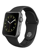Watch Sport 38mm Space Grey Aluminium Case with Black Sport Band
