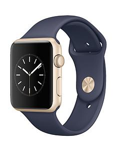apple-watch-sportnbsp42mm-gold-aluminium-case-with-midnight-blue-sport-band