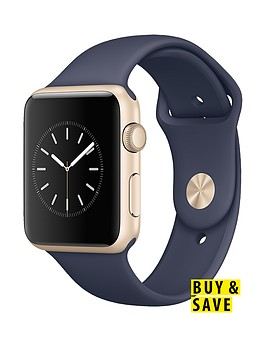 apple-watch-sportnbsp42mm-gold-aluminium-case-with-midnight-blue-sport-band