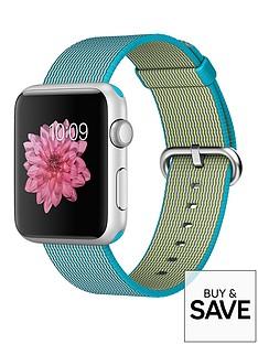 apple-watch-sportnbsp42mm-silver-aluminium-case-with-scuba-blue-woven-nylon