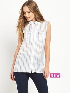 v-by-very-sleeveless-utility-blouse