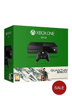 xbox-one-quantum-break-500gb-console-bundle-with-optional-extra-controller-12-months-live-gold