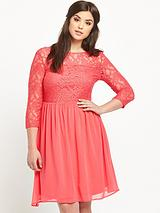 All Over Lace Skater Dress (14-28)